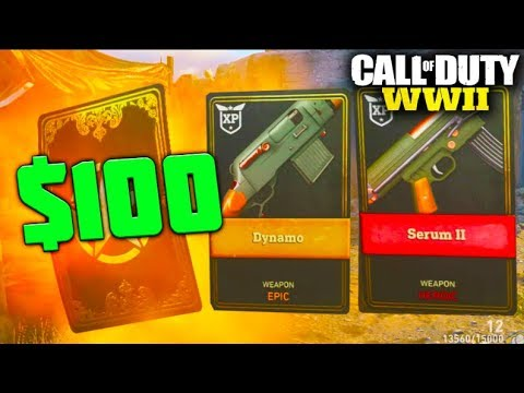 "WW2 - NEW UPDATE ""$100 Epic & Heroic Supply Drop Opening!"""