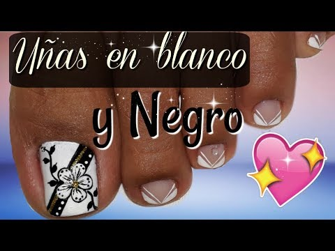 Diseno De Unas Elegante Y Facil Easy And Elegante Nails Video