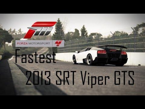 Forza 4 Fastest 2013 SRT Viper GTS (257.5mph)