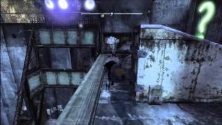 Batman Arkham City - 4 Question Mark Pressure Switch Challenge In Park Row walkthrough