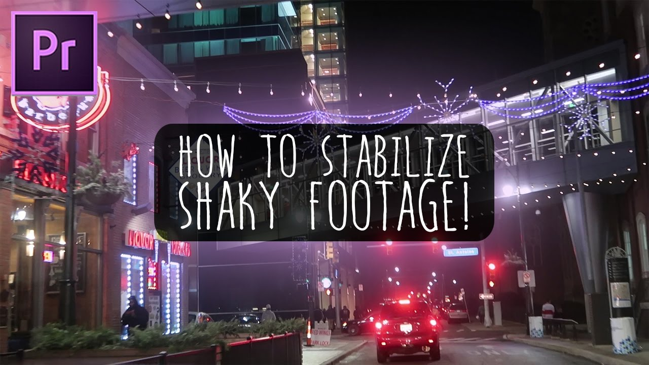 How To Stabilize GoPro Videos The Right Way