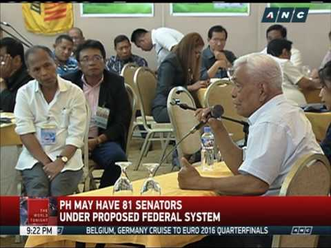 PDP-Laban to debate on proposed federal system of gov