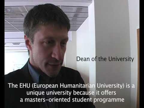 The European Humanitarian University of Vilnius