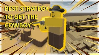 50 SUB SPECIAL: HOW TO GET THE 🔫COWBOY🔫 - Roblox Tower Defence Simulator