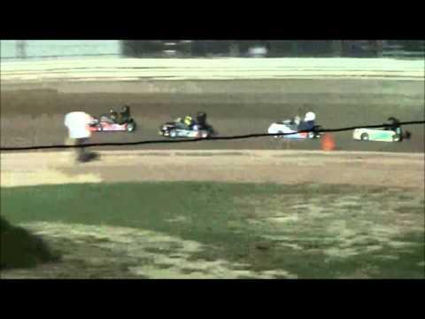 NYDKS Race #6 Limerock Flathead 350  Feature Grandstand
