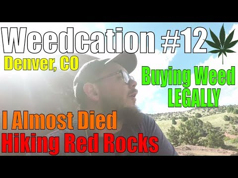 I Almost Died Hiking Red Rocks!!!! | Denver Colorado | Weedcation #12