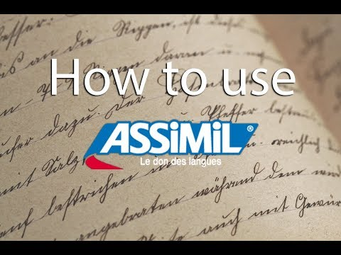 HOW TO USE ASSIMIL