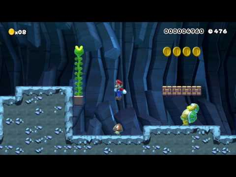 "Super Mario Maker Levels: ""Underground Giants"""