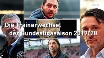 Herrlich Nr. 7: Die Trainerwechsel der Bundesligasaison 2019/20