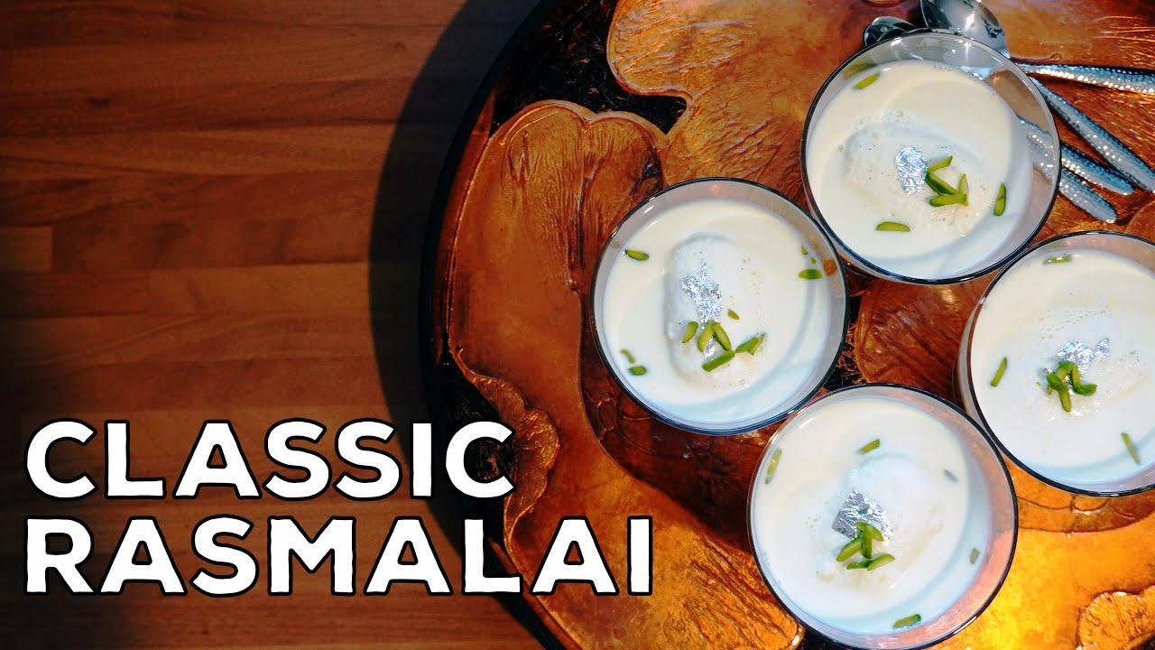How To Make Rasmalai With Paneer | Cottage Cheese Luxury Dessert | Eid Dessert | Party Dessert | DIY