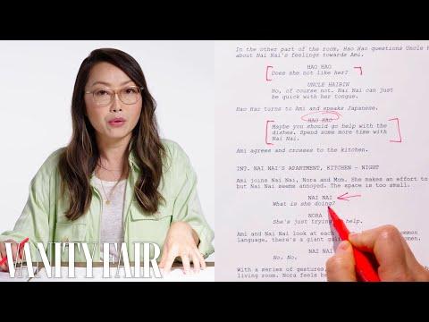 Screenplay Breakdown: Comparing First to Final Draft | Vanity Fair