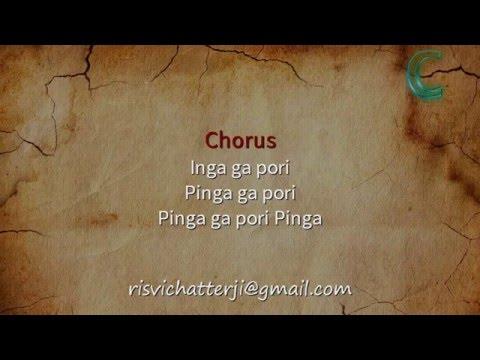 Pinga   Bajirao Mastani   Karaoke with Lyrics
