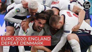 Euro 2020: England defeat Denmark to reach final v Italy at Wembley