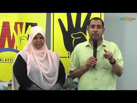 Thank you Malaysians for supporting the people of Egypt (Arabic)