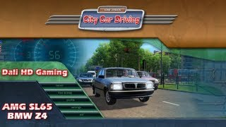 City Car Driving AMG SL65 & BMW Z4 PC Gameplay FullHD 1440p