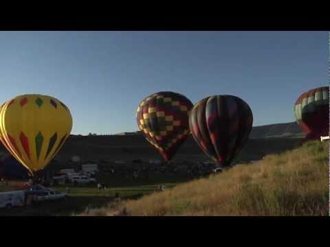 Balloons over Casper College Campus