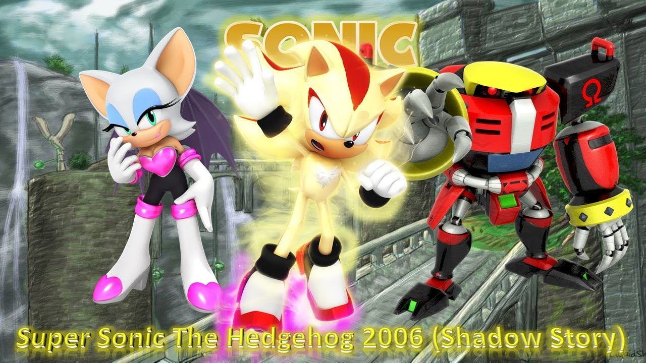 Super Sonic The Hedgehog 2006 Super Shadow Story 100 Playthrough Youtube