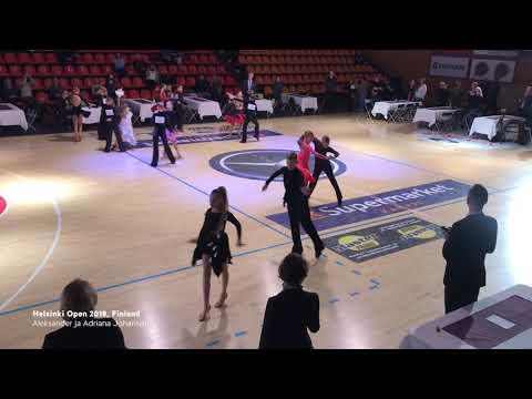 Aleksander Johanson - Adriana Johanson | Helsinki Open, Finland, 2018