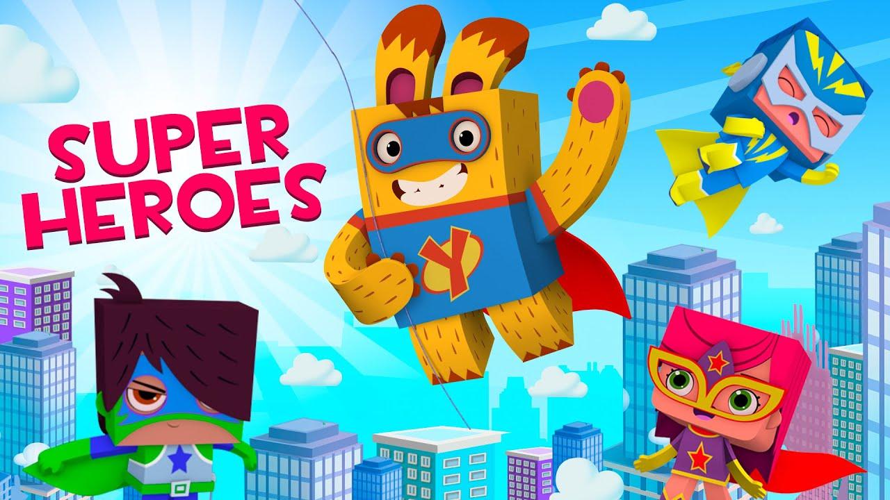 ЙОКО   Сборник Йоко SUPERHEROES   Мультфильмы для детей