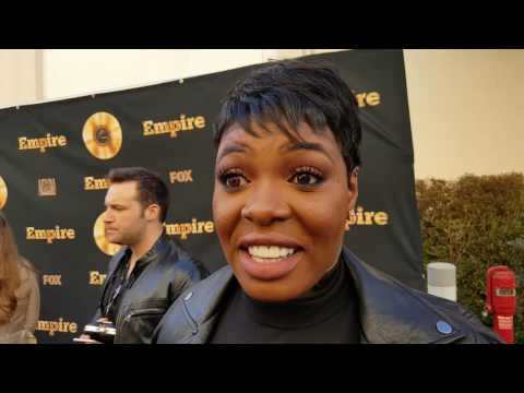 'Empire' star Ta'Rhonda Jones dishes Porsha