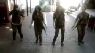 اجمل قتيات  الجيش الاسرائيلي  رقص جميل