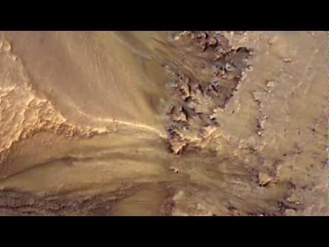 NASA Spacecraft Data Suggest Water Flowing on Mars [720p]