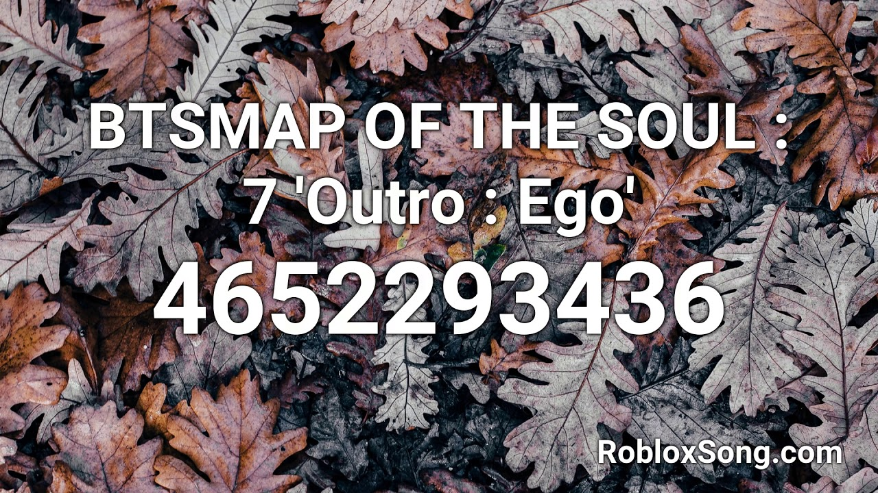 Bts Map Of The Soul 7 Outro Ego Roblox Id Roblox Music Code Youtube