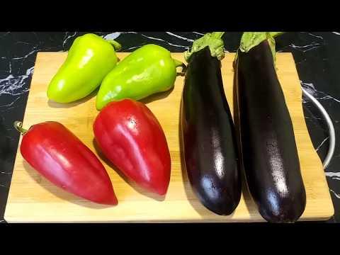 Вкусный салат из простых продуктов! Баклажаны по - Корейски /Рецепты от узбечки