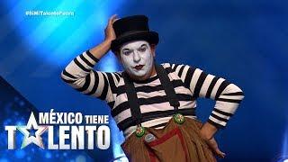 ¡Un mimo rebelde llega a México Tiene Talento!  | Temporada 3 | Programa 12 | México Tiene Talento