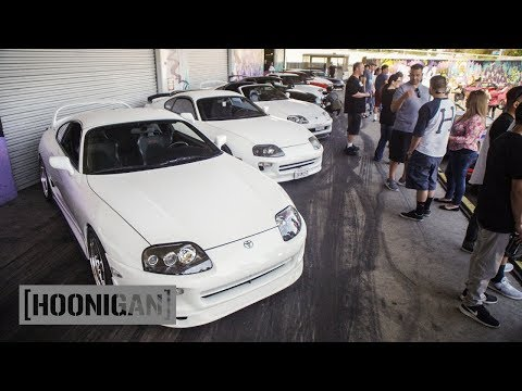 [HOONIGAN] DT 030: Supras lay a solid string of burnouts at Club Day
