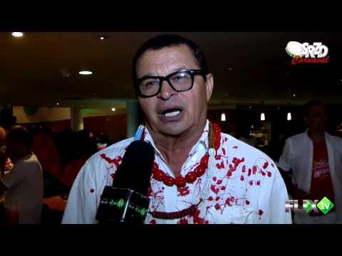 Ed Ribeiro (artista plástico) no Carnaval 2015- FlixTV