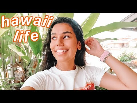 a normal day of life in hawaii vlog