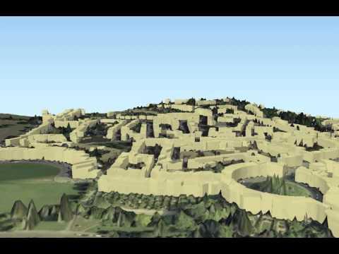 3D Bath City Experiments with LIDAR