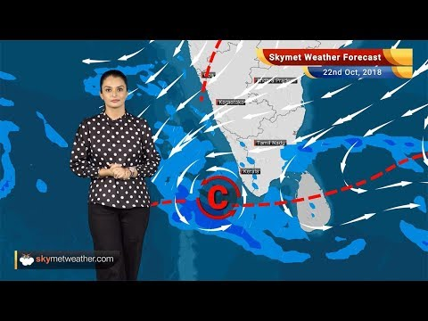 Weather Forecast Oct 22: Tamil Nadu, Karnataka to witness rain; rest of the country remains dry