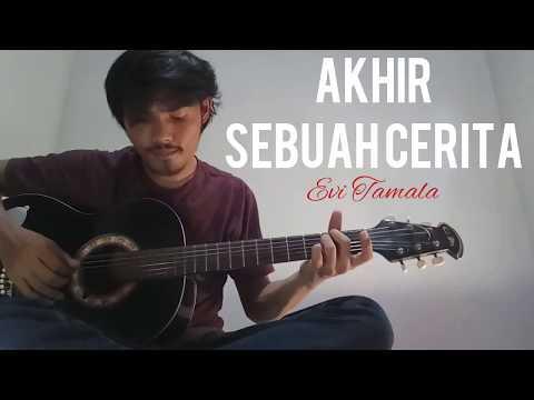 AKHIR SEBUAH CERITA - EVI TAMALA with Lyric (Cover By Syahdan)