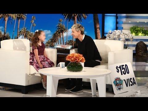 Ellen Gives Brielle a 'PAW Patrol' Surprise!