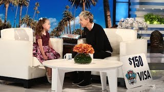 Ellen Gives Brielle a 'PAW Patrol' Surprise!