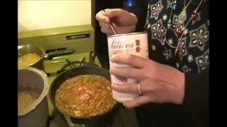 Cooking Spaghetti with Thrive Freeze  Dried Food