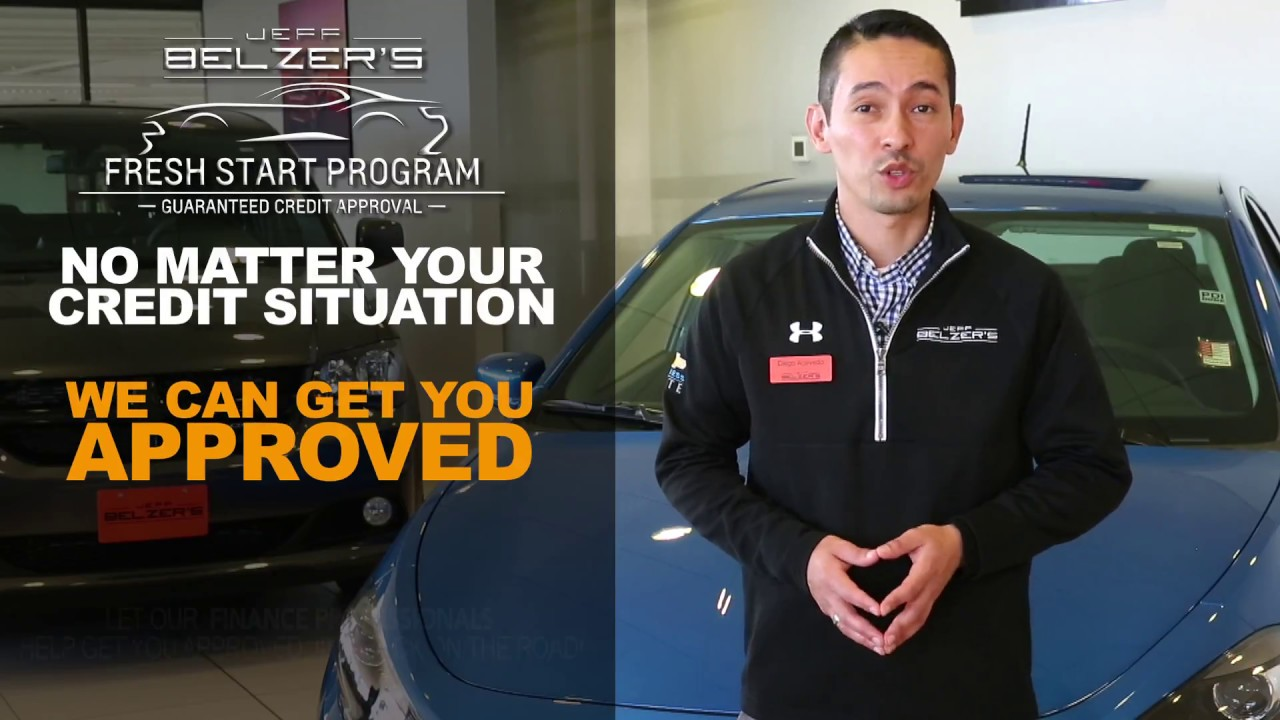 Jeff Belzer S Fresh Start Auto Financing Lakeville