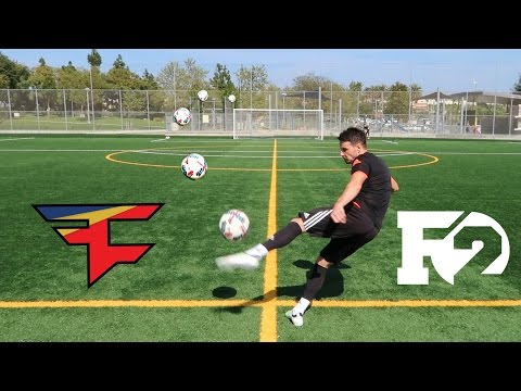 IMPOSSIBLE CROSSBAR CHALLENGE! (FaZeClan vs. F2Freestylers)