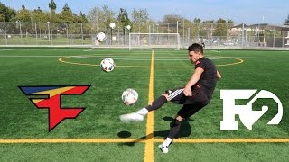 impossible crossbar challenge fazeclan vs f2freestylers