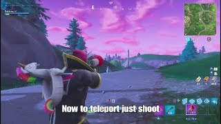 NEW Fortnite Glitch How To Teleport Anywhere!