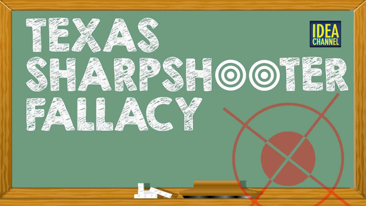 Luxury The Texas Sharpshooter Fallacy Idea Channel PBS Digital Studios