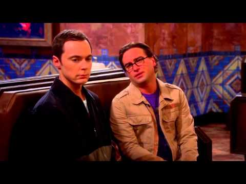 The Big Bang theory season 7 finale..(sheldon leaves everyone from train station )