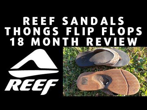REEF Sandals Thongs Flip Flops (12-18 Month Review)