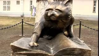 Вандалы изуродовали скульптуру ученого кота в Ярославле