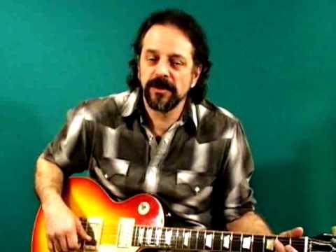 Blues Rock Guitar Lessons - Kings: T-Bone Walker - Andy Aledort - Slow Blues Solo 1