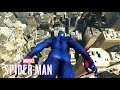 YouTube Turbo Marvel's Spider-Man PS4 - Spider-Man 2099 Black Suit Low Gravity Glides Off Freedom Tower!