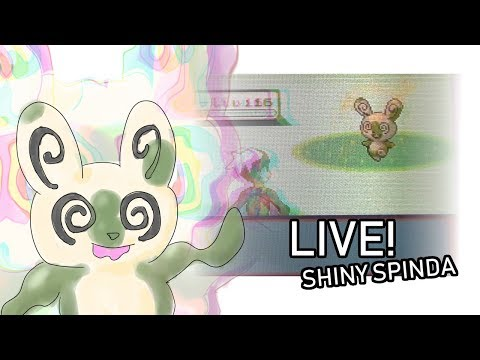 447 - LIVE! Shiny Spinda in Sapphire after 28,296 REs!