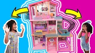 DIY Miniature vs Giant Dollhouse ! Barbie Craft